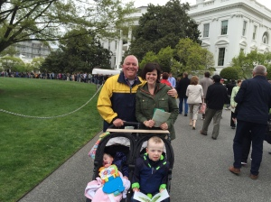 Visiting the White House, and the last day a seizure was seen